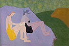 Milton Avery Sketchers by the Stream 1951