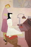 Milton Avery Two Figures at Desk 1944