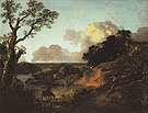 Thomas Gainsborough River Landscape with Rustic Lovers c1754