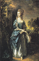 Thomas Gainsborough The Hon Frances Duncombe c1775