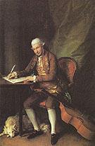 Thomas Gainsborough Carl Friedrick Abel 1777