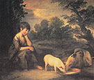 Thomas Gainsborough Girl with Pigs 1782