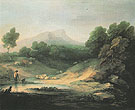 Thomas Gainsborough Mountain Landscape with Shepherd 1783