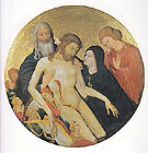 Lamentation for Christ 1400 - Jean Malouel