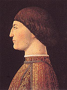 Portrait of Sigismondo Malatesta - Piero Della Francesca