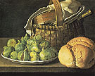 Still Life with Figs - Luis Melendez