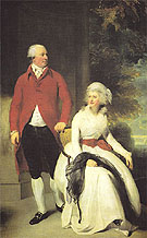 Sir Thomas Lawrence Mr and Mrs John Julius Angerstein 1792