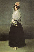 Francisco de Goya ya Lucientes The Countess of Carpio Marquise de la Solana 1757