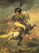 An Officer of the Imperial Horse Guards Charging - Theodore Gericault