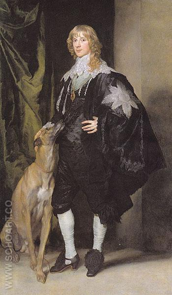 James Stuart Duke of Richmond and Cennox - Van Dyck reproduction oil painting