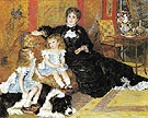 Madame Georges Charpentier and Her Children 1878 - Pierre Auguste Renoir