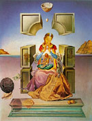 Salvador Dali The Madonna of Port Lligat-Salvador Dal 1949 O