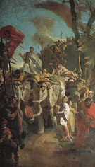 The Triumph of Aurelian - Giovanni Barrista Tiepolo