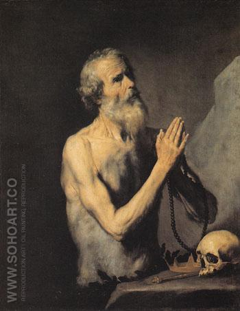 Saint Onuphrius 1637 - Jusepe de Ribera reproduction oil painting