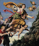 The Assumption of Mary Magdalen into Heaven c1620 - Domenichino