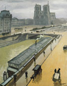 Albert Marquet Reproduction oil painting of Rainy Day in Paris Notre Dame 1910