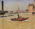 Albert Marquet Reproduction oil painting of The Port of Hamburg 1909