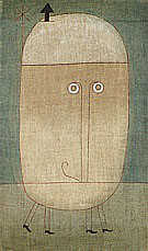 Paul Klee Mask of Fear