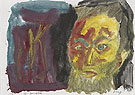A R Penck Self Portrait I 1987