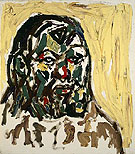 A R Penck Self Portrait 1984