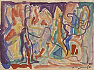 A R Penck Untitled c1980