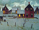 Winter Evening - A.J. Casson