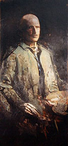 Self Portrait - Abbott Henderson Thayer