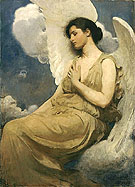 Winged Figure 1889 - Abbott Henderson Thayer