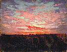 Sunrise - Abbott Henderson Thayer reproduction oil painting