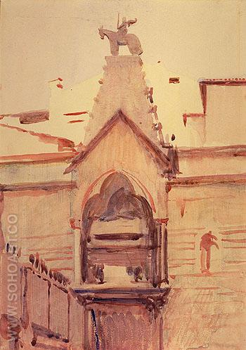 Tomb of Verona - Abbott Henderson Thayer reproduction oil painting