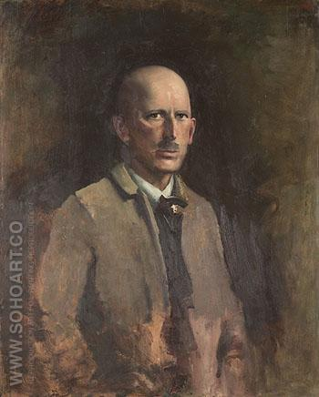 Self Portrait 1918 - Abbott Henderson Thayer reproduction oil painting