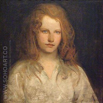 Margaret Mackittrick - Abbott Henderson Thayer reproduction oil painting