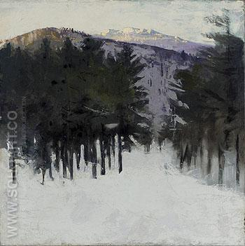 Monadnock No 2 1912 - Abbott Henderson Thayer reproduction oil painting