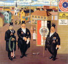 War Veterans 1922 - George Scholz reproduction oil painting