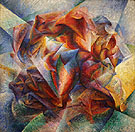 Umberto Boccioni Dynamism of a Soccer Player 1913