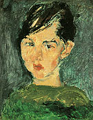 Girl in Green c1928 - Chaim Soutine
