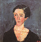 Portrait of Madame Castaing c1929 - Chaim Soutine