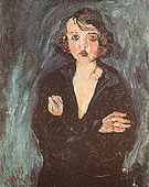 Chaim Soutine Woman with Arms Folded c1929