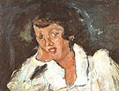 Girl Leaning on Her Elbow c1934 - Chaim Soutine