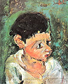 Chaim Soutine Portrait of Chalot c1937