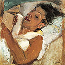 Chaim Soutine Woman Reading c1937