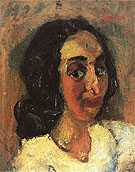 Portrait of a Woman c1940 - Chaim Soutine