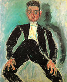 The Groom c1924 - Chaim Soutine