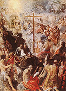 Glorification of the Cross c1605 - Adam Elsheimer