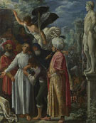 Adam Elsheimer Saint Lawrence Prepared for Martyrdom