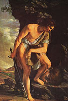 Adam Elsheimer David with the Head of Goliath