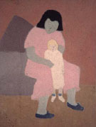 Milton Avery Child with Doll 1944