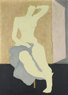 Milton Avery Nude with Blue Cloth 1944