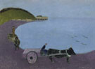 Milton Avery Oxcart Blue Sea 1943