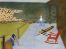 Milton Avery Porch and Chairs 1944